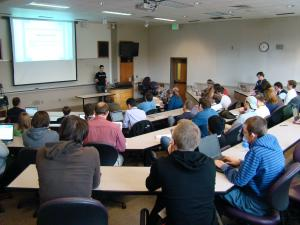 Large classrooms for excellent presentations
